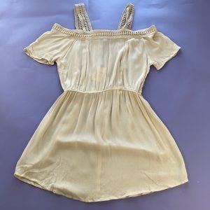 RAGA Off the Shoulder BOHO Mini Dress